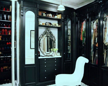 Add Chair &giant Mirror in your Closet
