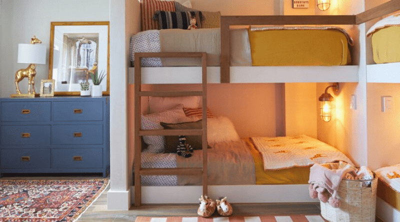 Make a perfect Kids room by selective ideas
