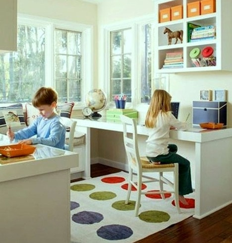 Make space for a work area as well Reading Time Fun