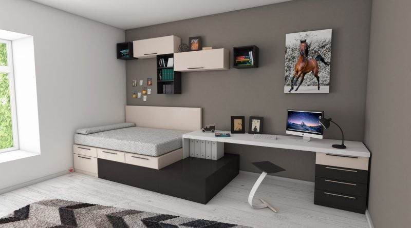 how to make a bedroom in your living room